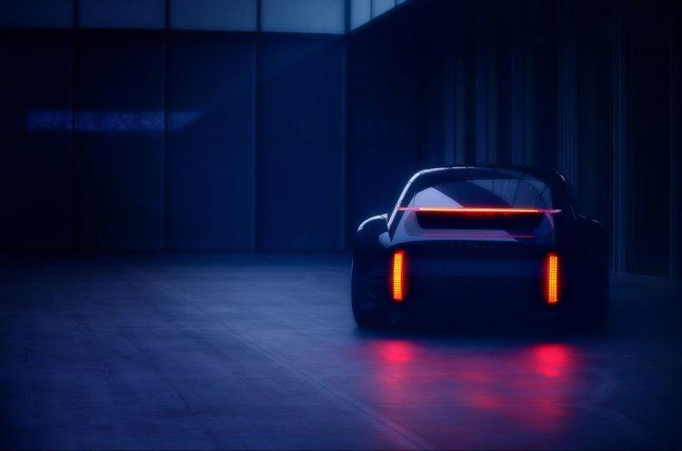 현대차, EV 콘셉트카 '프로페시' 티저 공개… 미래 디자인 방향 제시