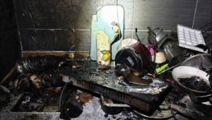 '고양이가 전기레인지 건드려…' 수원서 도시형생활주택 화재
