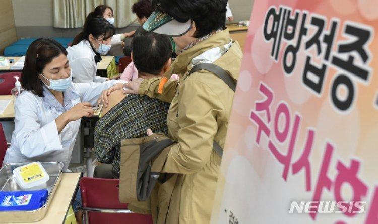 """전국에 인플루엔자 유행주의보 발령…""""이달 안에 예방접종"""""""