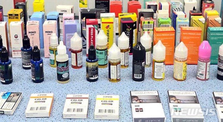 국내 액상형 전자담배서 폐질환 의심물질…'사용중단' 권고 유지