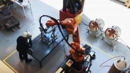 현대건설, AI 산업용 로봇 시범 적용