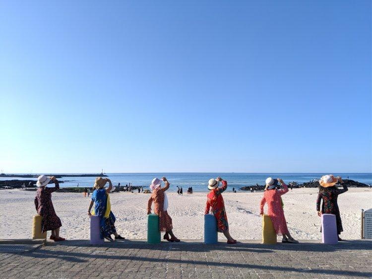 '평균 나이 65세' 中 할머니들은 한국 자유여행 중