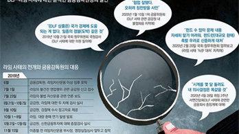 <b>감독당국, 금융사고 예방보다 사후제재…<br> '소잃고 외양간' 되풀이</b>