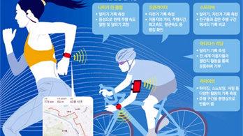 앱으로 기록 공유… 슬기로운 운동생활<br>'거리두기'에 위치기반 운동앱 인기