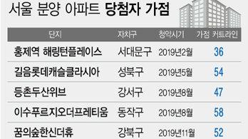 치솟는 청약 커트라인 '서울 56점' …30대 청약은 '넘사벽'