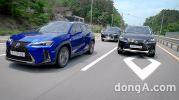 <b>[신차 시승기]<br>렉서스 'UX 250h'… 하이브리드 최적화 SUV </b>