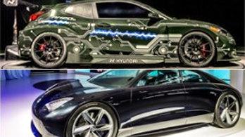 현대차 '中시장 재건' 시동… 고성능 전기차 'RM20e' 세계 첫 공개