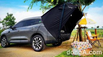 르노삼성이 제안하는 'QM6·XM3 차박'<br> 캠핑 전용 액세서리 신제품 추가