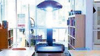 공항 누비며 자외선-C 발사… 코로나 잡는 멸균로봇 화제