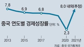 '코로나 선방' 中 작년 경제성장률 2.3%