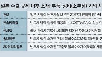 """고순도 불화수소 양산 성공… """"日 수출규제 3대품목 공급 안정"""""""