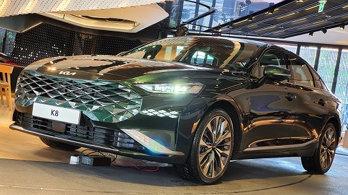 """대변혁 기아 첫 신차 'K8' 출시… """"미래 드라이빙 경험을 미리 만난다"""""""