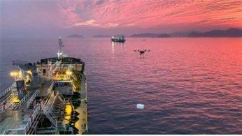 바다로 치킨·짜장면 배달?…해양드론기술, 드론 활용해 해상배송 실현