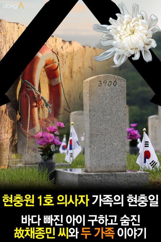 [카드뉴스] 현충원 1호 의사자 가족의 현충일