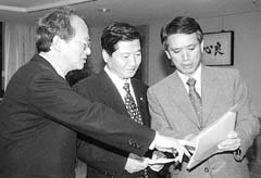 이기택씨 『DJ 92년 대선때 6백억이상 썼다』 : 뉴스 : 동아닷컴