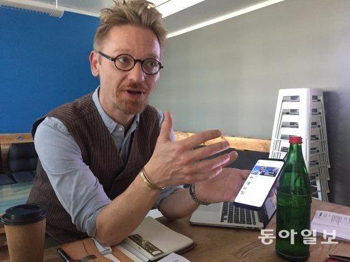 [세계의 뉴미디어를 가다]휴머니즘과 인공지능이 결합한 뉴스앱 '업데이'