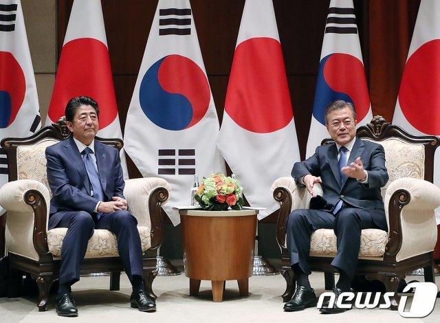 """靑 """"G20때 한일정상회담 없다… 日이 준비 안돼"""""""