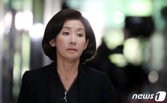 """나경원 """"BTS 무명 때 김연아하고만 사진 찍은 것 후회"""""""