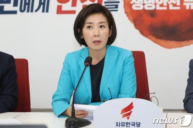 """나경원 """"범법자 조국, 수사부터 받아야…인사청문회 TF 운영할 것"""""""