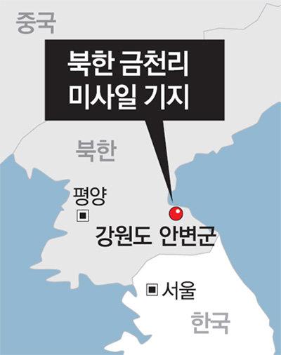 美CSIS, 北금천리 준중거리미사일 기지 공개