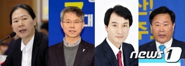 '광주의 딸' 권은희, 3선 고지 먹구름…與 후보에 고전