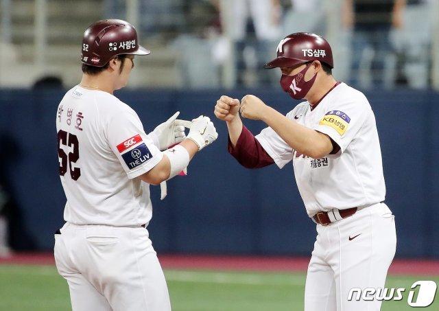 'Park Byung-ho's final blow' Kiwoom beat NC to win 2 consecutive wins… Woojin Ahn, 2 runs in 7 innings