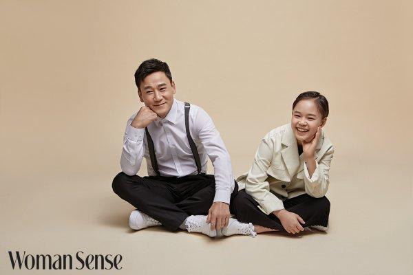 '뭉찬'여홍철X여서정, 금메달 부녀 동반 화보