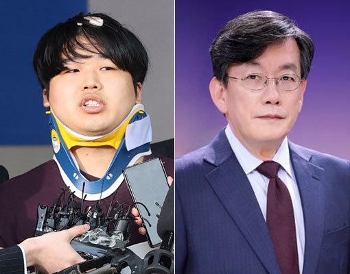 조주빈(왼쪽)-손석희. 사진제공 동아닷컴DB·JTBC