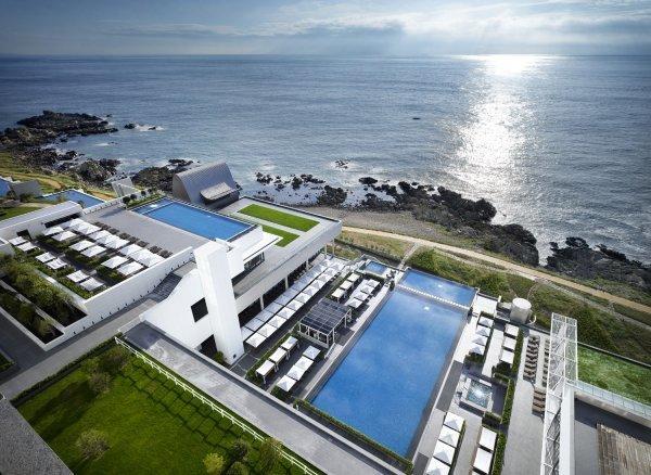 아난티 힐튼 부산, 야외수영장 인피니티 풀 오픈