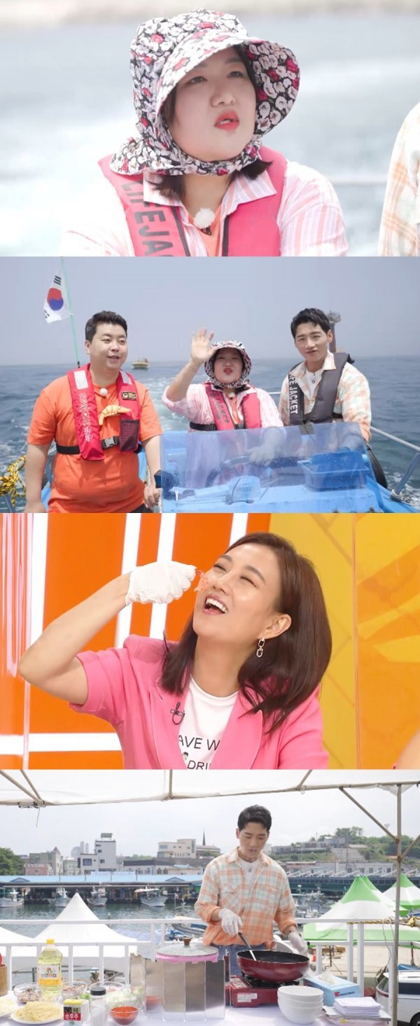 '랜선장터' 박군, 꽃새우 짬뽕 공개 '군침이 싹 도네'